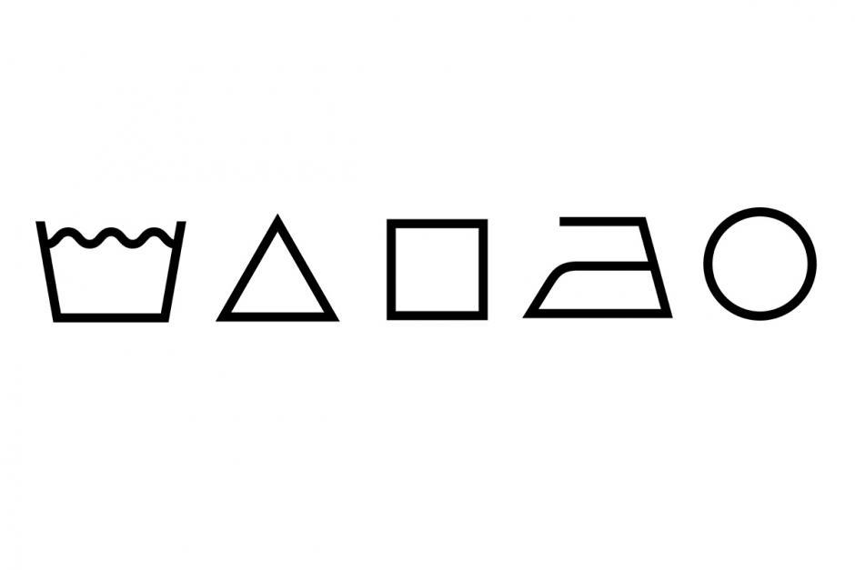wassymbolen algemeen
