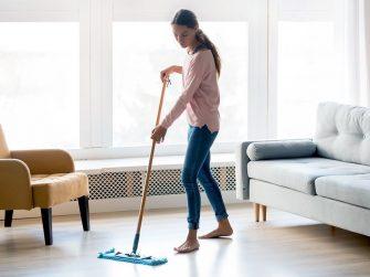 laminaat schoonmaken