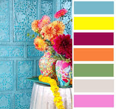 boho-chic kleuren
