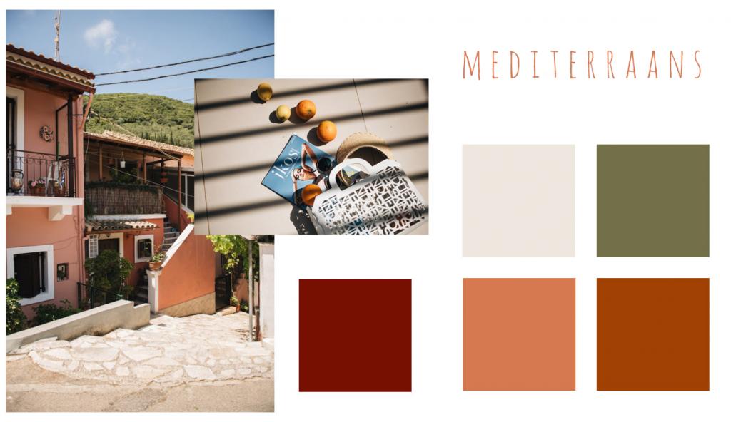 mediterraanse kleuren