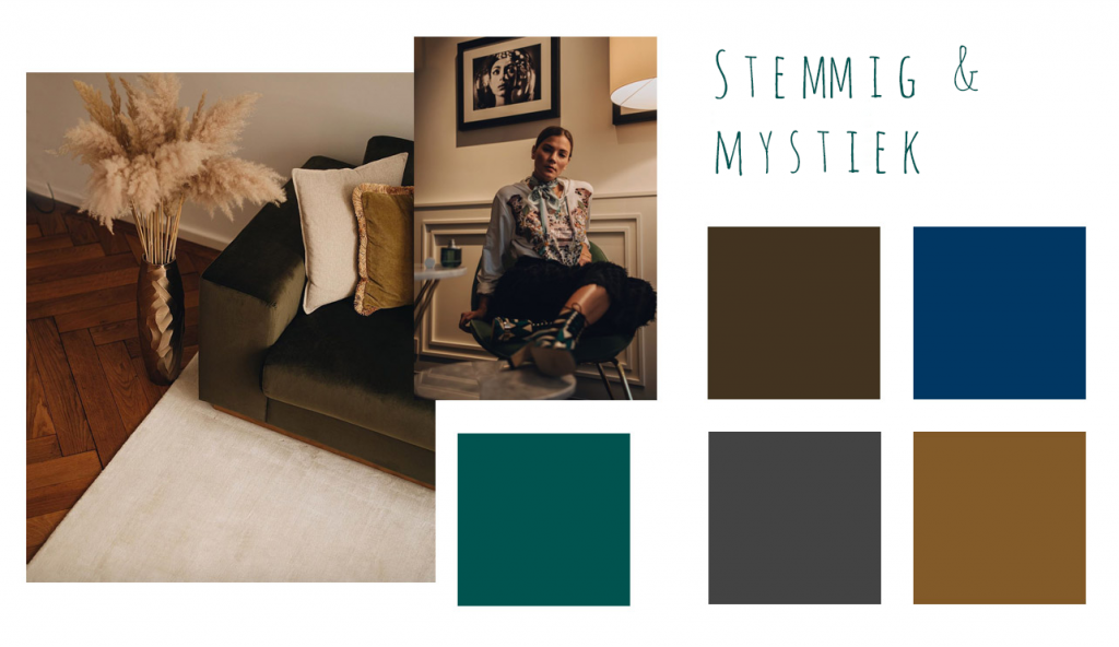 stemmig en mystiek kleuren