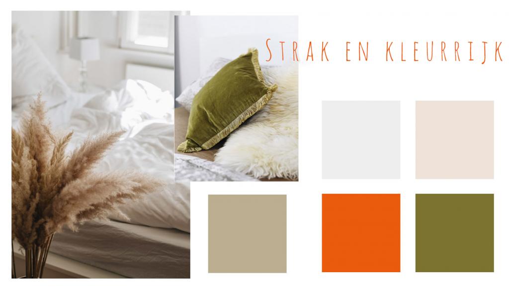 strak en kleurrijk kleuren