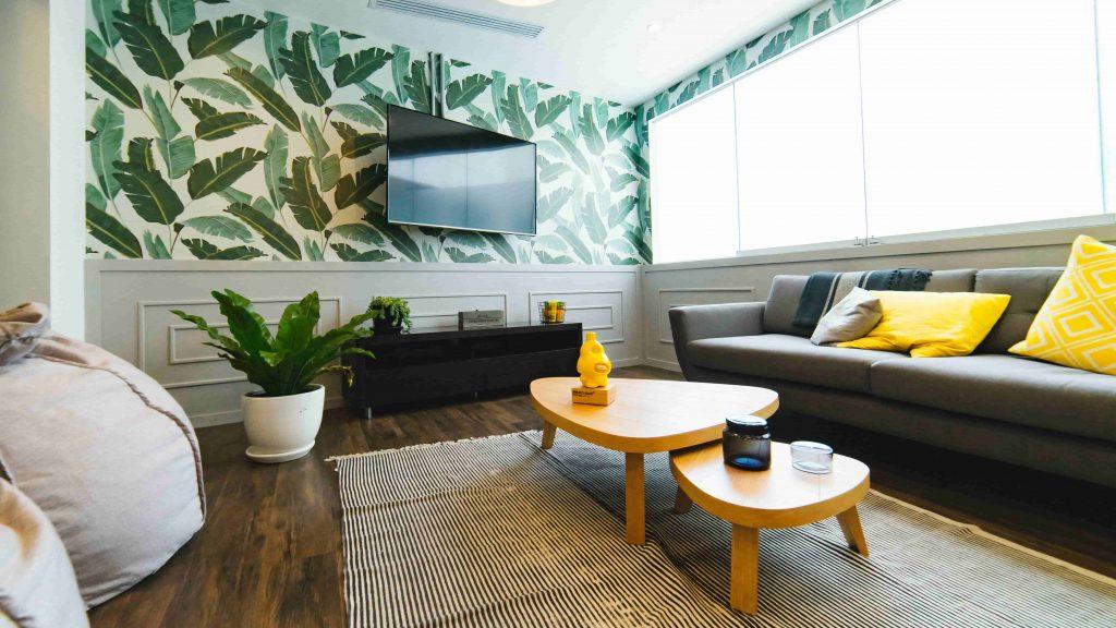 meubels met ronde vormen