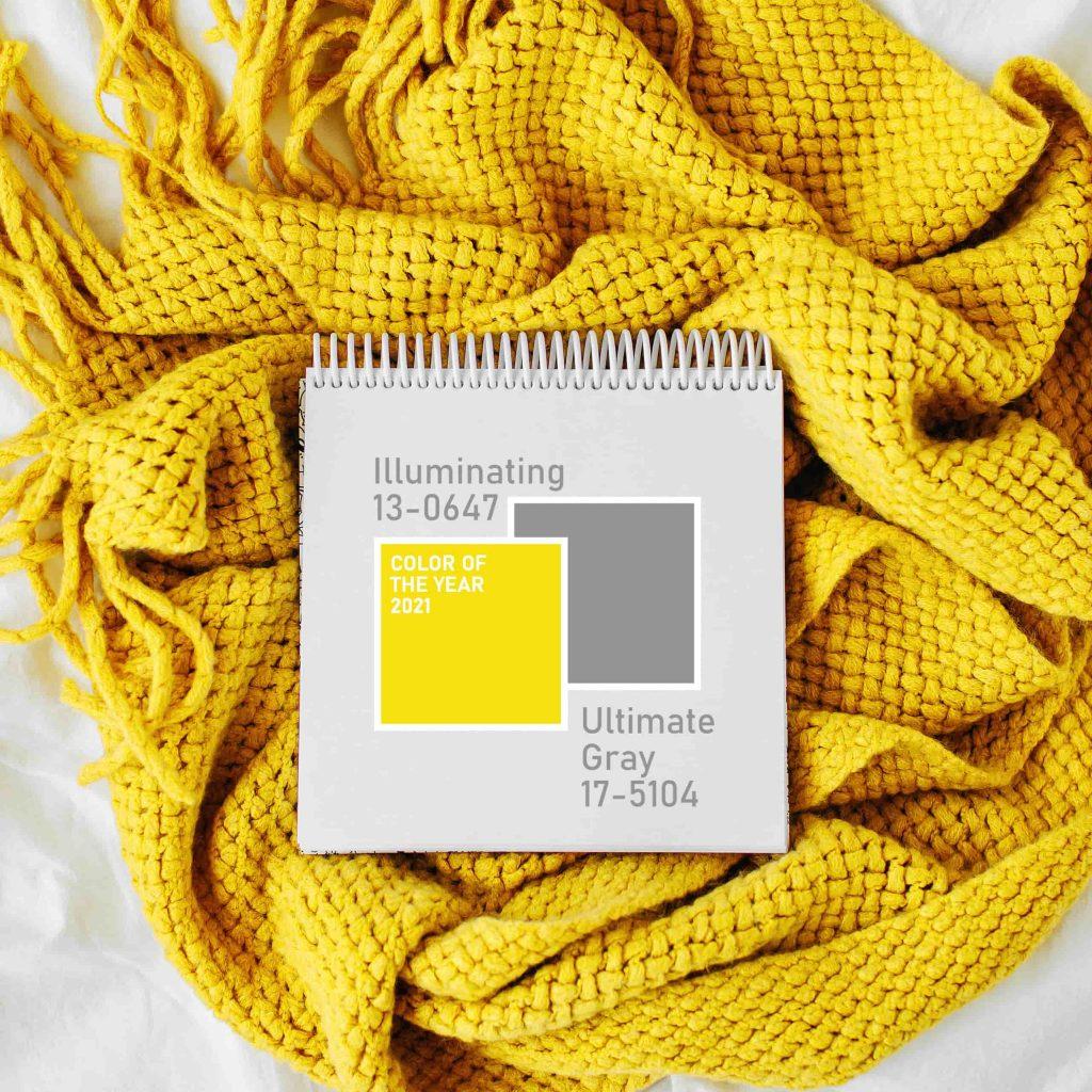 illuminating ultimate grey kleuren
